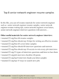 Best Resume Format Network Engineer by Top8seniornetworkengineerresumesamples 150407031541 Conversion Gate01 Thumbnail 4 Jpg Cb U003d1428394588