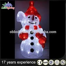 Snowman Lawn Decorations Outdoor Plastic Light Up Snowman Outdoor Designs