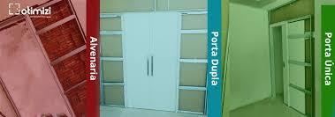 Basta Sistema de Porta Embutida na parede de Alvenaria ou Drywall | 4003  &FS94