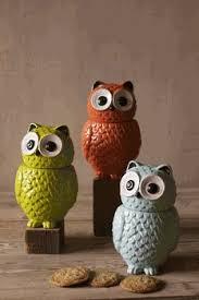owl kitchen canisters 49 best vintage owls images on vintage owl figurine