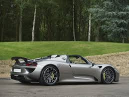 Porsche 918 Black - stock tom hartley jnr