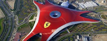 ferrari factory building ferrari world abu dhabi