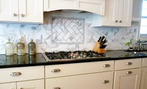 backsplash ideas on a budget cherry wood cabinet countertop