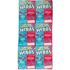 amazon com nerds grape u0026 strawberry candy 1 65 ounce pack of