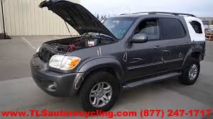 parting out 2005 toyota sequoia stock 4107or tls auto recycling