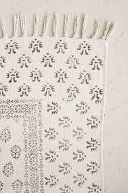 Block Print Wallpaper Heidi Overdyed Block Print Rug Ivory 8 U0027 X 10 U0027 By Urban