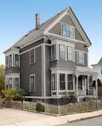 colour scheme medium grey house with tone on tone lighter grey