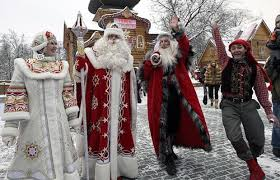 santa claus sightings appearances around the
