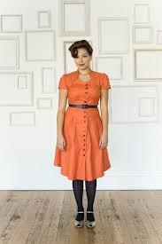 colette ceylon ladies shirt dress pattern