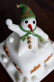 Christmas Cake Decorations Leicester by Carrot