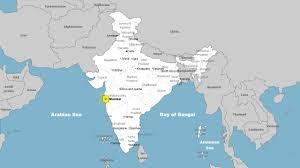 Bombay India Map by Mumbai By Meghnajadhav13