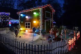 christmas lights train ride best christmas light displays in los angeles