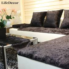 Leather Sofa Cushion Aliexpress Com Buy Simple Modern European Sofa Cover High Grade