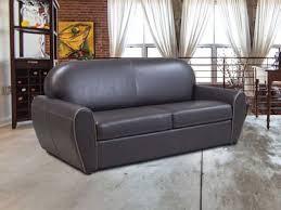 épaisseur cuir canapé canapé convertible rapido en synderme de cuir swingo