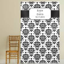 wedding photo booth backdrop photo booth backdrop with black and white damask design custom