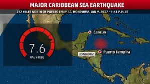 weather map us islands major earthquake strikes caribbean sea tsunami advisory issued