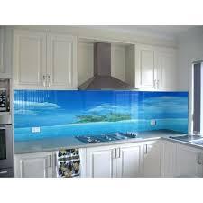 credence en verre trempé pour cuisine credence cuisine verre trempe cracdence de cuisine sur mesure