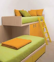 bedroom bunk bed with modern design also metal frames inside
