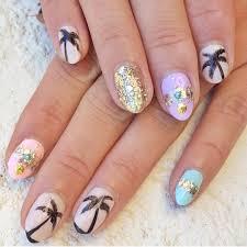 18 nail designs tropical tropical nail designs on pinterest nails