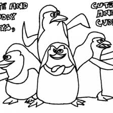 Penguins Madagascar Coloring Pages Az Coloring Pages Free