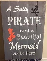 Kids Pirate Bathroom - brush your teeth print little boy pirate bathroom art children u0027s
