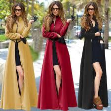 popular long wool coat dress buy cheap long wool coat dress lots