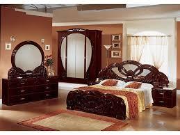 stylish bedroom furniture stylish italian mahogany high gloss bedroom furniture homegenies