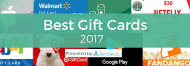 best gift cards best and worst gift cards of 2017 study report lendedu