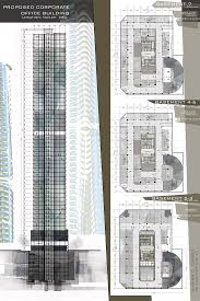 architectural layouts design 8 proposed corporate office buildling high rise building
