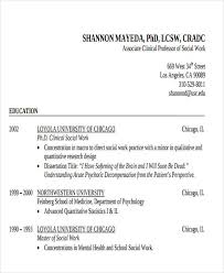 Social Work Resume Examples by 25 Printable Work Resume Templates Free U0026 Premium Templates