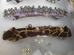 hair barrettes how to make beaded hair craft tutorials and inspiration