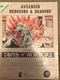 Tomb Of Horrors Map Found This In My Dad U0027s Old Ad U0026d Stuff The Original Tomb Of