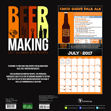 2017 beer making wall calendar great gifts for beer lovers