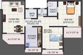 900 Sq Ft Apartment Floor Plan 2 Bhk 900 Sq Ft Apartment For Sale In Jewel Arista At Rs 3100 0