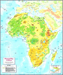 africa map physical labeled physical map of africa ozhvj fresh africa map physical