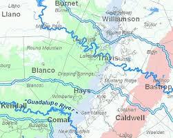 Texas rivers images Major texas rivers map jpg
