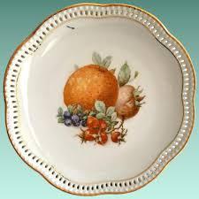 schumann cuisine schumann fruits pierced 7 inch plate maggie s memories
