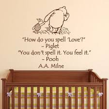 Wall Nursery Decals Wall Decals Nursery Winnie The Pooh How From Fabwalldecals On