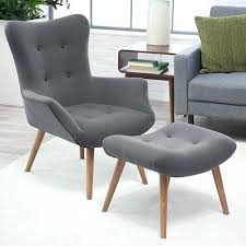 Chair Ottoman Set Armchair Ottoman Set Upholstered Tufted Accent Lounge Chair