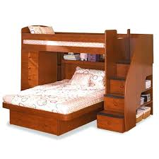 twin over queen bunk bed photo of bunk bed natural cherry stain