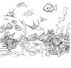 deep ocean colouring pages ocean coloring pages prints colors