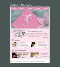 free wedding website free premium wedding website templates evohosting