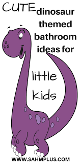 how to create the perfect dinosaur themed bathroom for little kids