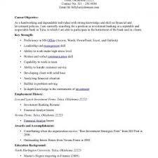 cover letter resume job objective sample curriculum vitae job