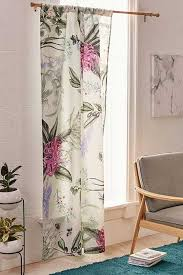 Plum Flower Curtains Window Curtains Window Panels Urban Outfitters Canada
