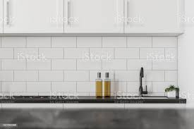 black kitchen countertops with white cabinets white and black kitchen countertop stock photo image now