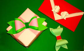 bow wrapping paper easy paper bow without ribbon or wrapping paper gift box and