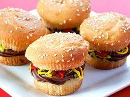 Burger K Hen Mini Man Burgers Recipes Cooking Channel Recipe Alton Brown