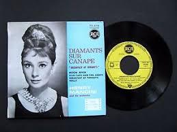 musique diamants sur canapé vinyle 45t ep henry mancini diamants sur canape musique du