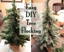 how to flock tree atme so it stays on